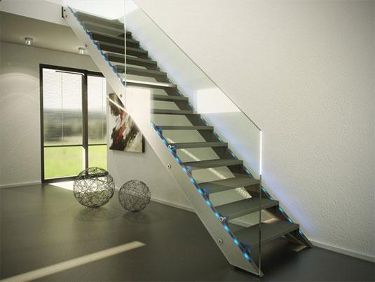 Imagen de la escalera modelo Future de Siller