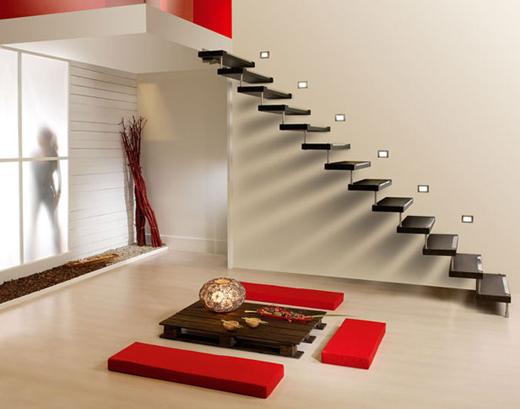 Imagen de la escalera Swing de Cast