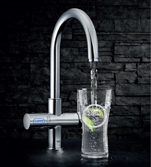 Imagen del grifo Grohe Blue Chilled and Sparkling