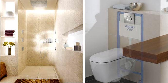 Baños Adaptados A Personas Mayores:Soluciones Grohe para la utilización en plenas condiciones y máximo